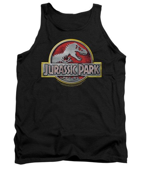 Jurassic Park - Logo Tank Top by Brand A
