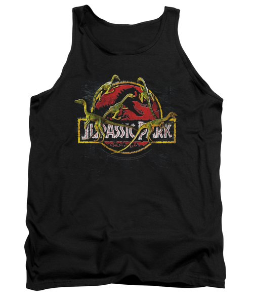 Jurassic Park - Something Has Survived Tank Top by Brand A