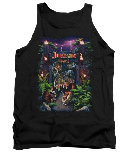 Jurassic Park - Welcome To The Park Tank Top by Brand A