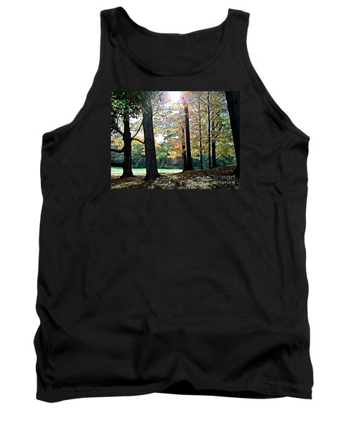 Tank Top featuring the photograph Just A Glimpse Of Sunlight by Rita Brown