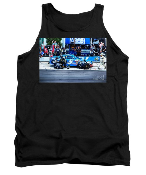 Kasey Kahne's Last Stop Before Victory Tank Top by Tony Cooper