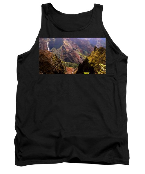 Tank Top featuring the photograph Kauai Colors by Katie Wing Vigil