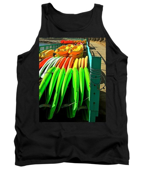 Kayaks And Paddleboards Tank Top