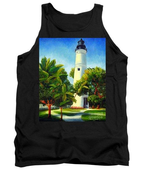 Key West Lighthouse Tank Top by Shelia Kempf