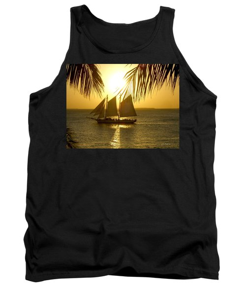 Key West Sunset Tank Top