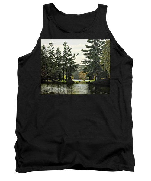 Tank Top featuring the painting Killarney by Kenneth M  Kirsch