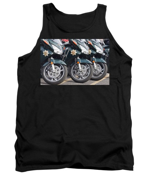 King County Police Motorcycle Tank Top