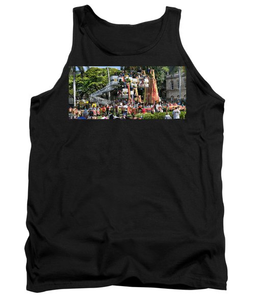 King Kamehameha Draped Tank Top