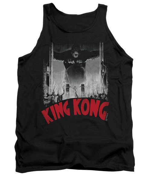 King Kong - At The Gates Poster Tank Top by Brand A