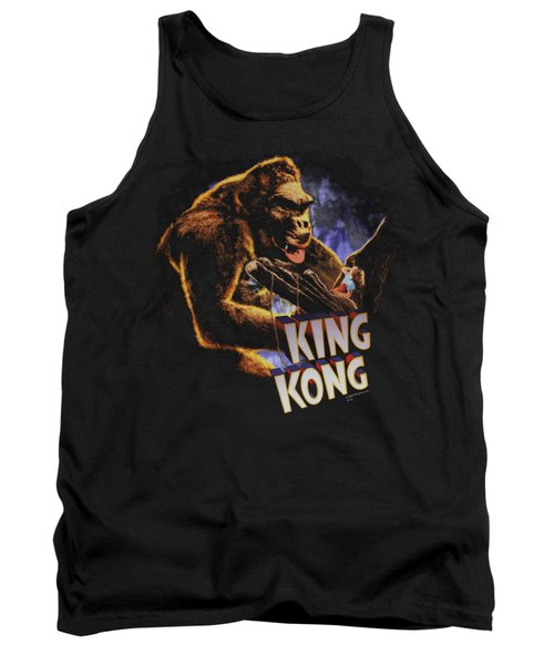 King Kong - Kong And Ann Tank Top by Brand A