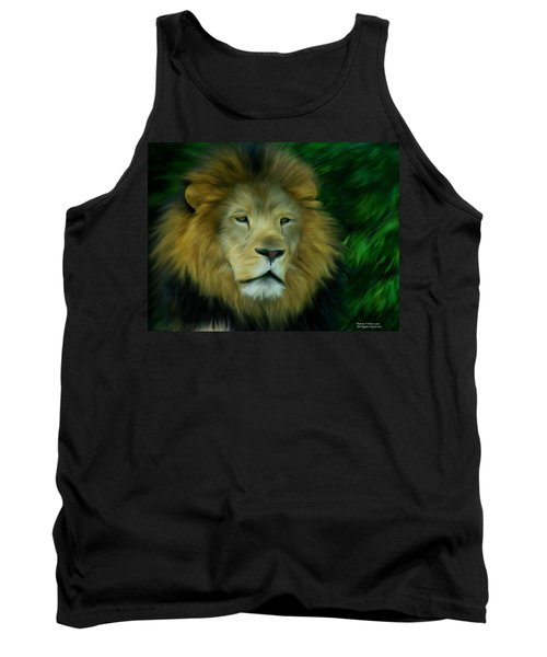 King Tank Top by Maria Urso