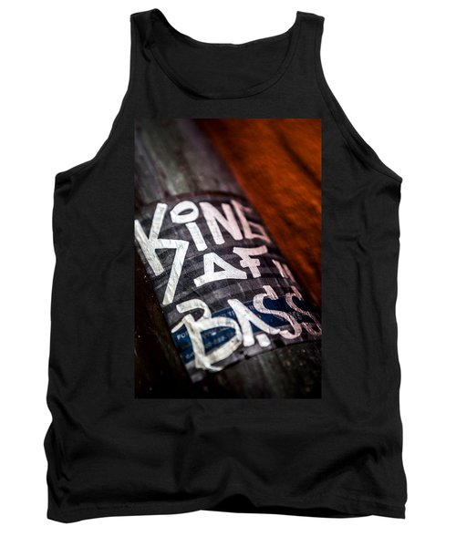 Tank Top featuring the photograph King Of Bass by Sennie Pierson