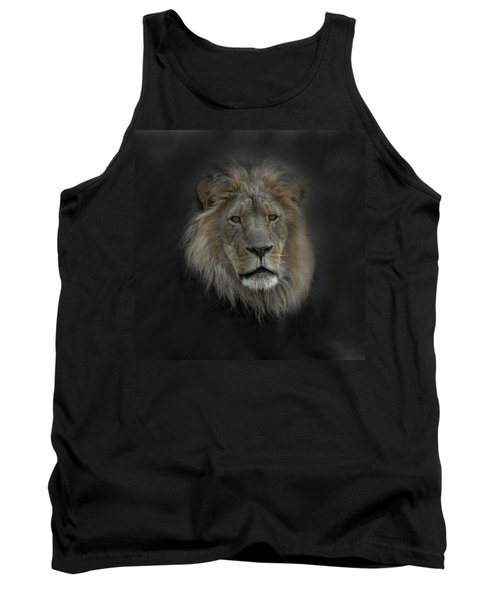 King Of Beasts Portrait Tank Top
