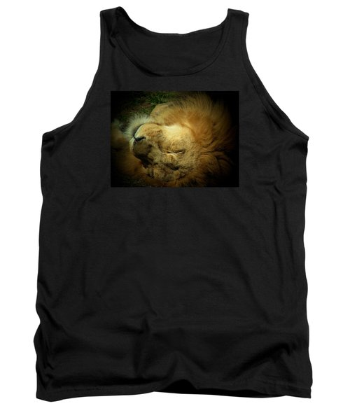 King Of Peace,lion Tank Top