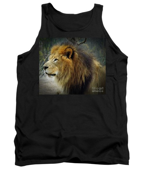 King Of The Jungle Tank Top by Sara  Raber