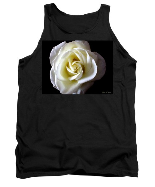 Tank Top featuring the photograph Kiss Of A Rose by Shana Rowe Jackson