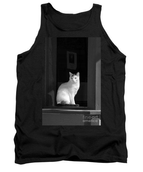 Kitty In The Window Tank Top