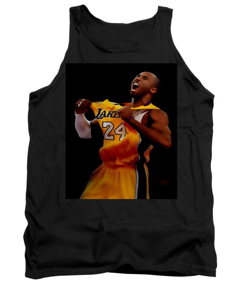 Kobe Bryant Sweet Victory Tank Top by Brian Reaves
