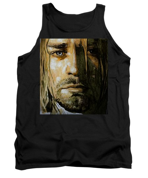 Kurt Cobain Tank Top by Laur Iduc