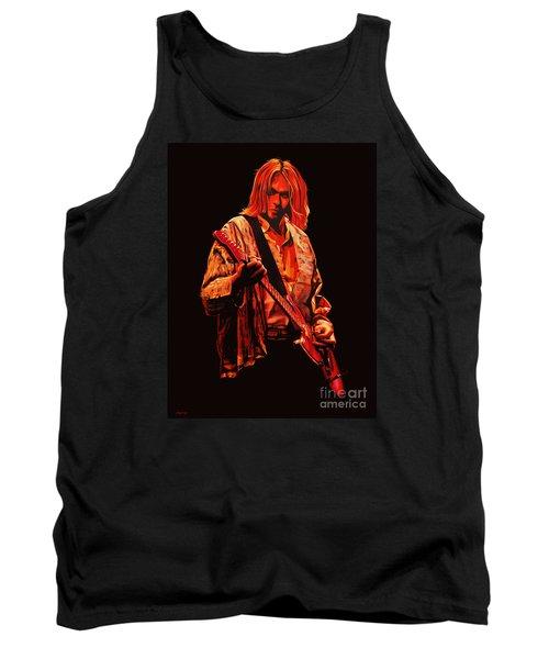 Kurt Cobain Painting Tank Top