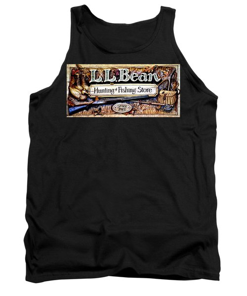 L. L. Bean Hunting And Fishing Store Since 1912 Tank Top by Tara Potts