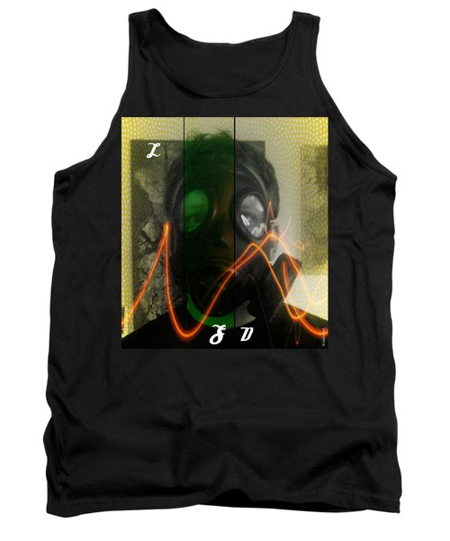 Tank Top featuring the photograph L S D  Part Three by Sir Josef - Social Critic - ART
