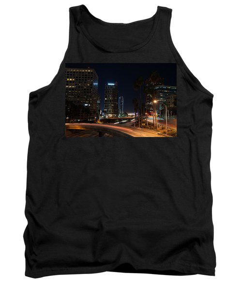 Tank Top featuring the photograph La Down Town 2 by Gandz Photography