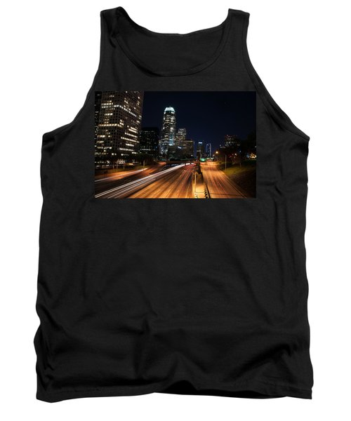 Tank Top featuring the photograph La Down Town by Gandz Photography
