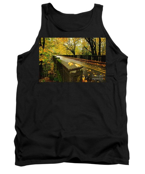 Leaves Of Gold Tank Top