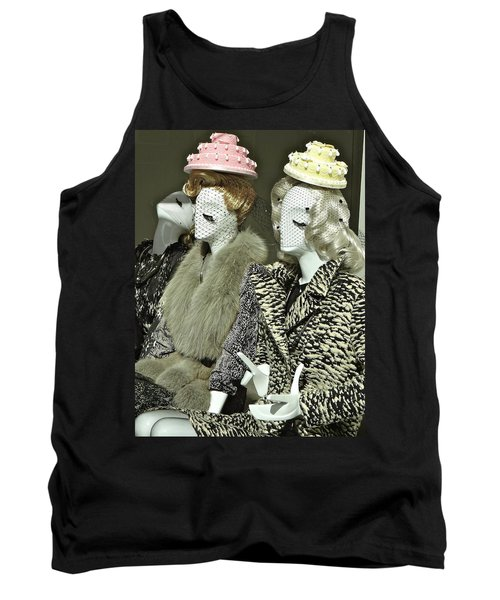 Ladies A La Mode Tank Top by Ira Shander