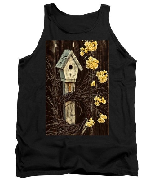 Lady Banks Roses Tank Top by Caitlyn  Grasso