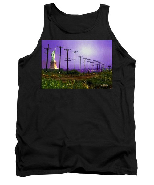 Lady Liberty Lost Tank Top by RC deWinter