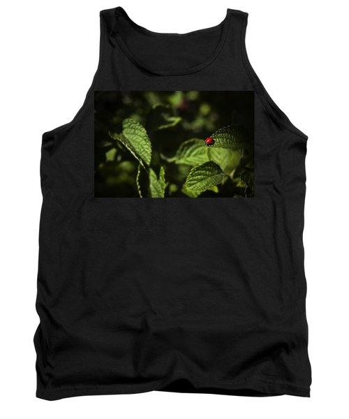 Tank Top featuring the photograph Ladybug by Bradley R Youngberg
