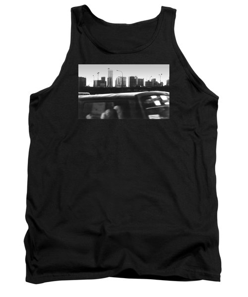 Lagos Skyline At Dusk Tank Top