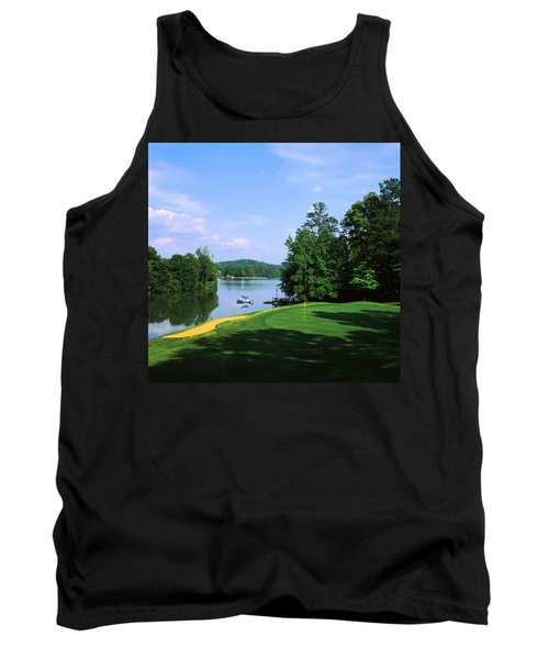 Lake On A Golf Course, Legend Course Tank Top