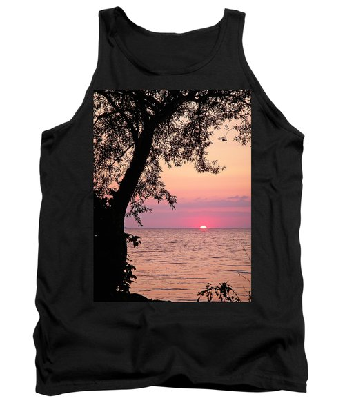 Lake Sunset Tank Top by Aimee L Maher Photography and Art Visit ALMGallerydotcom