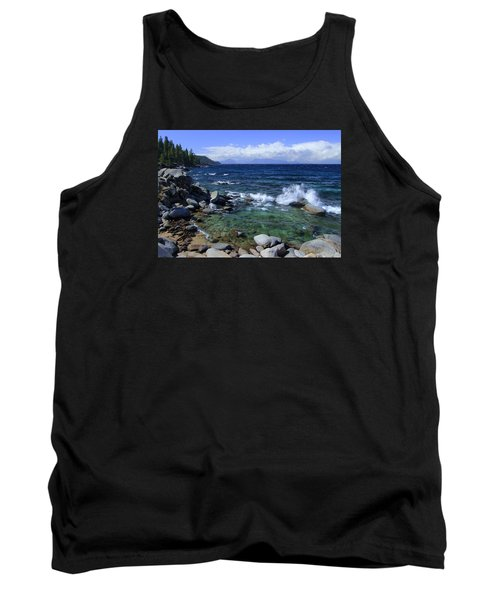 Tank Top featuring the photograph Lake Tahoe Wild  by Sean Sarsfield