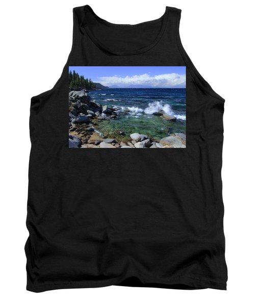 Lake Tahoe Wild  Tank Top