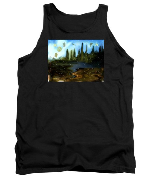 Land Of The Fairies  For Kids Tank Top