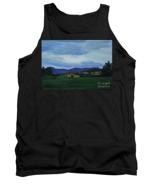 Landscape Of Sola Norway Tank Top