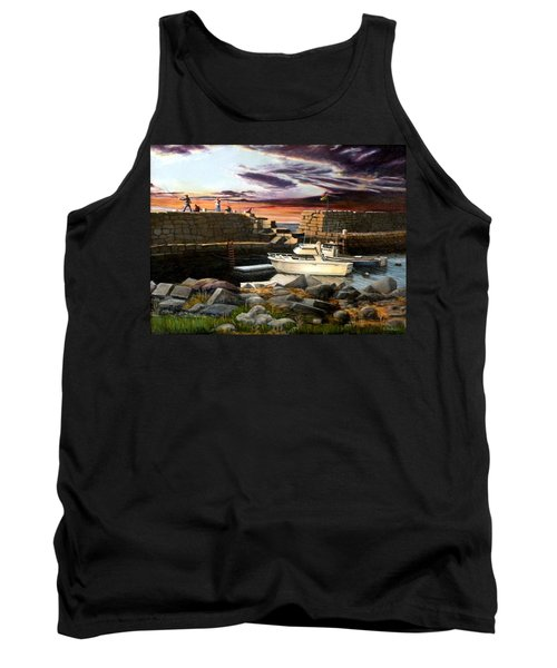 Lanes Cove Gloucester Tank Top by Eileen Patten Oliver