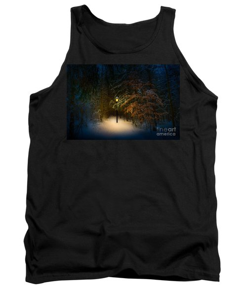Lantern In The Wood Tank Top