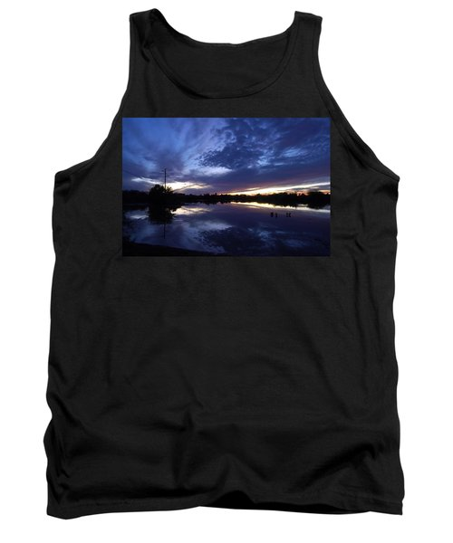 Tank Top featuring the photograph Last Light by Tam Ryan