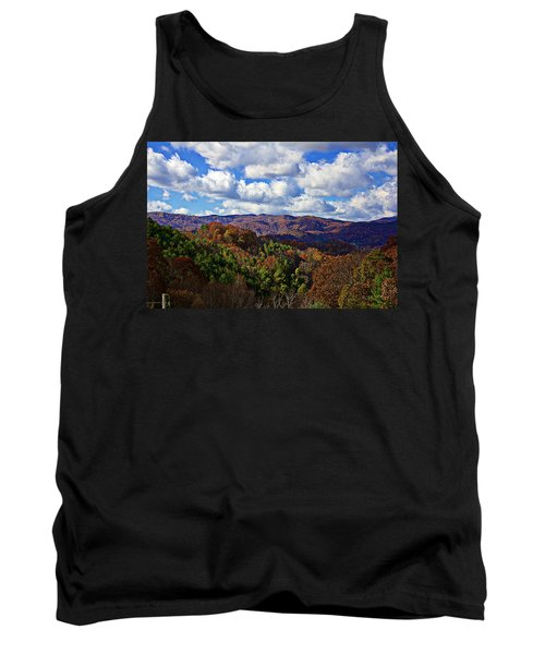 Late Autumn Beauty Tank Top by Tom Culver