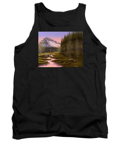 Late In The Day Tank Top by Jack Malloch