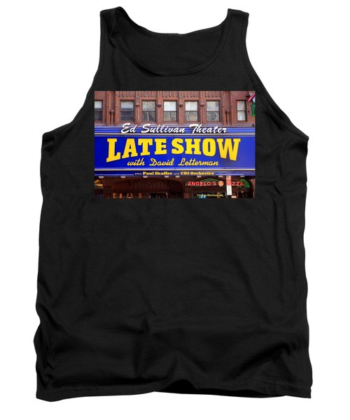 Late Show New York Tank Top by Valentino Visentini