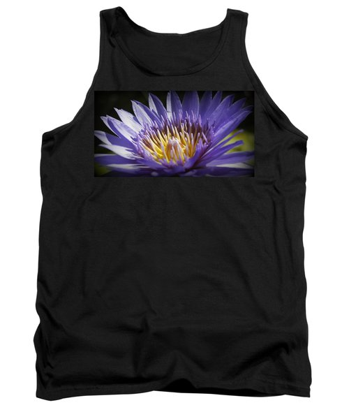 Tank Top featuring the photograph Lavendar Lily by Laurie Perry