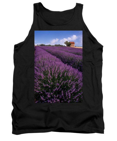 Lavender In Provence Tank Top