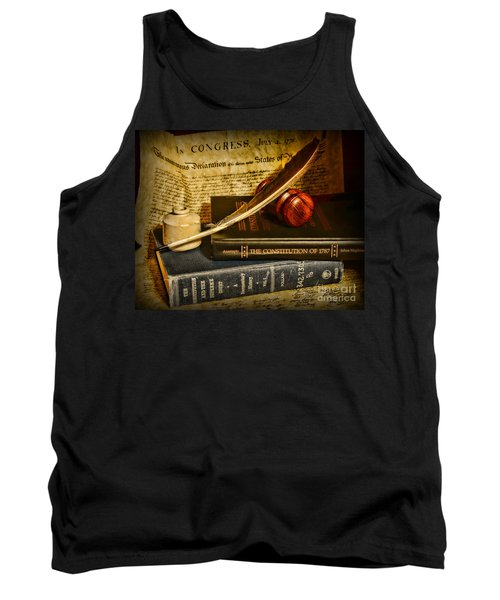 Lawyer - The Constitutional Lawyer Tank Top by Paul Ward