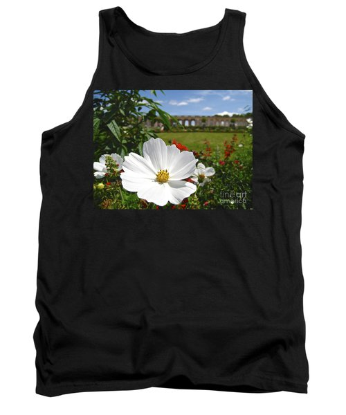 Tank Top featuring the photograph Le Fleur De Versailles by Suzanne Oesterling
